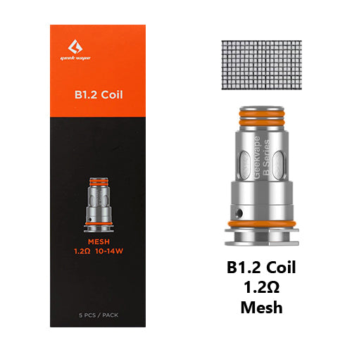 Geek Vape B Series Replacement Coils 1.2ohm | Vape World Australia | Vaping Hardware