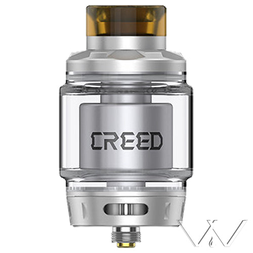 GeekVape Creed RTA Silver | Vape World Australia | Vaping Hardware