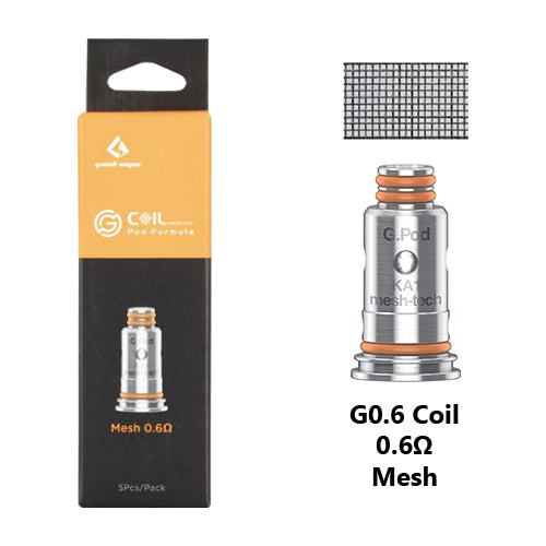 GeekVape G Series Coils 0.6ohm | Vape World Australia | Vaping Hardware