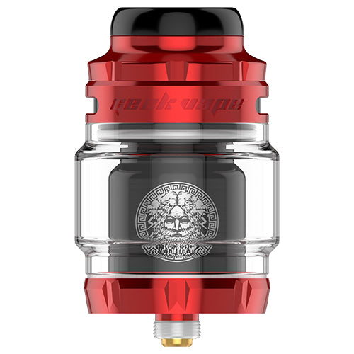 GeekVape Zeus X Mesh RTA Red Black | Vape World Australia | Vaping Hardware