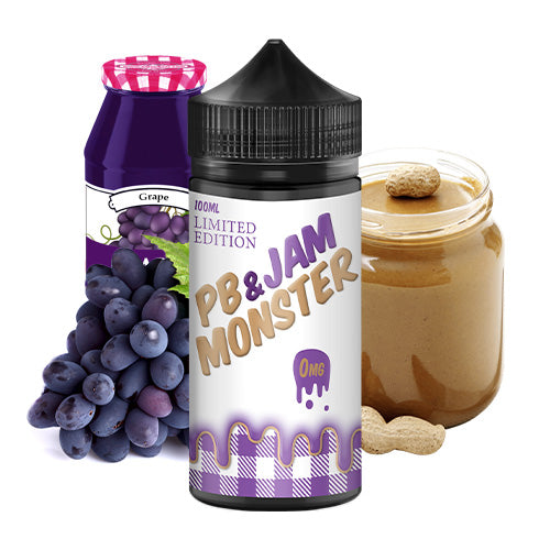 Grape | PB & Jam Monster Limited Edition | Vape World Australia | E-Liquid