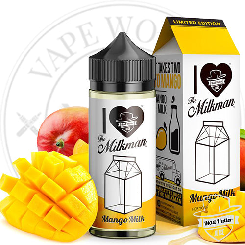 I Love The Milkman | Mad Hatter Juice | Vape World Australia | E-Liquid