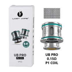Lost Vape UB Ultra Boost Pro Coils 0.15ohm | Vape World Australia | Vaping Hardware