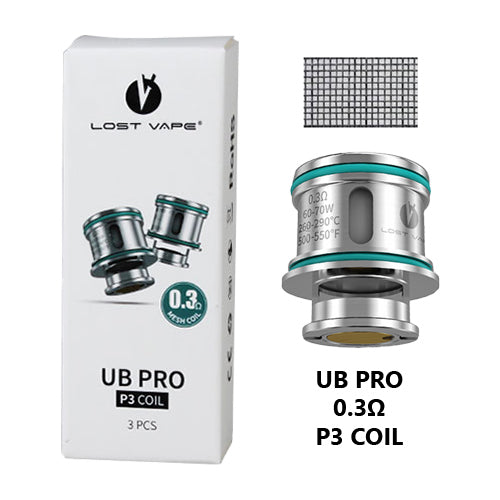 Lost Vape UB Ultra Boost Pro Coils 0.3ohm | Vape World Australia | Vaping Hardware