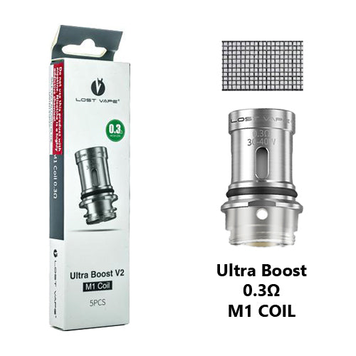 Lost Vape UB Ultra Boost Coils 0.3ohm M1 | Vape World Australia | Vaping Hardware