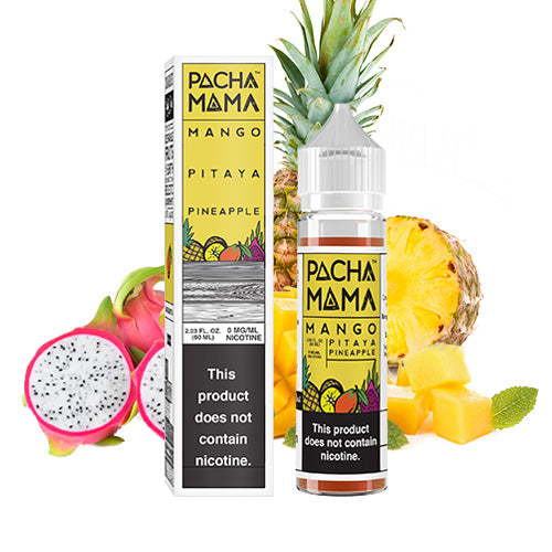 Mango Pitaya Pineapple 60ml | Charlie's Chalk Dust | Vape World Australia | E-Liquid