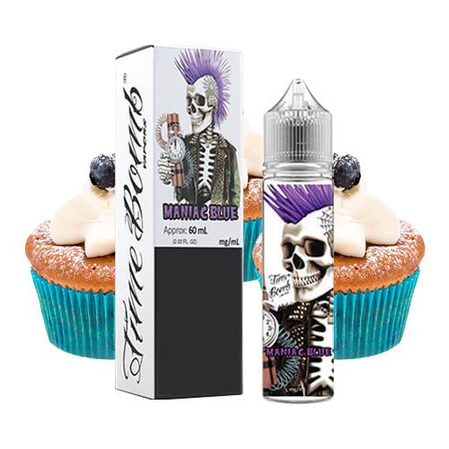 Maniac Blue 60ml | Time Bomb Limited | Vape World Australia | E-Liquid