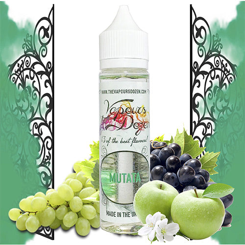 Mutata 60ml | The Vapours Dozen | Vape World Australia | E-Liquid