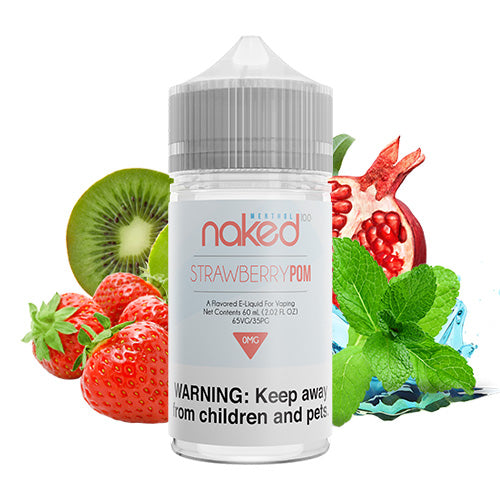 Strawberry Pom | Naked 100 | Vape World Australia | E-Liquid