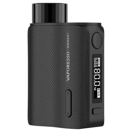 Vaporesso Swag II Mod Black | Vape World Australia | Vaping Hardware