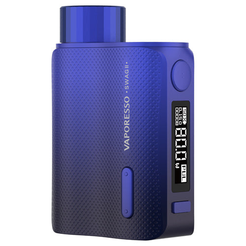 Vaporesso Swag II Mod Blue | Vape World Australia | Vaping Hardware