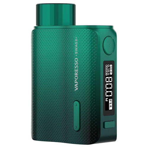 Vaporesso Swag II Mod Green | Vape World Australia | Vaping Hardware