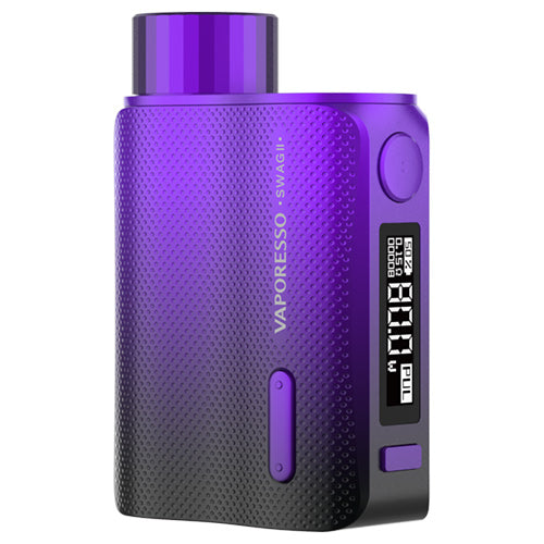 Vaporesso Swag II Mod Purple | Vape World Australia | Vaping Hardware