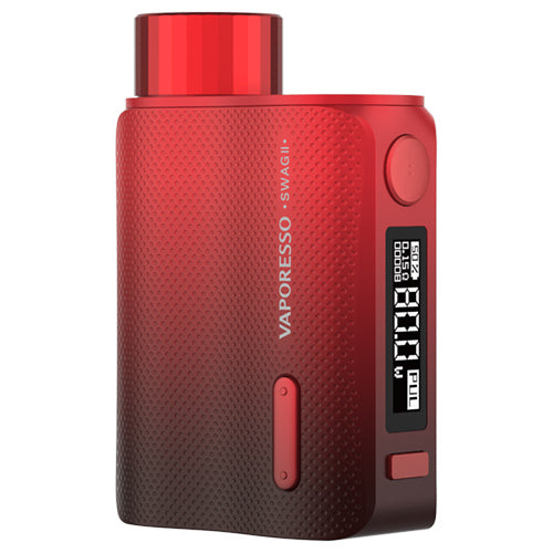 Vaporesso Swag II Mod Red | Vape World Australia | Vaping Hardware