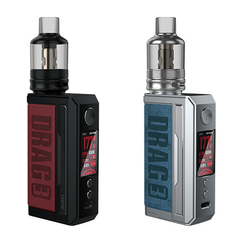 VooPoo Drag 3 177w TPP Pod Tank Kit | Vape World Australia | Vaping Hardware
