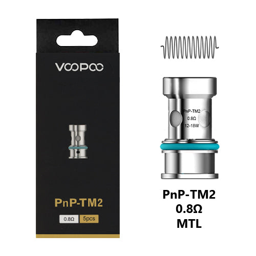 VooPoo V Suit PnP Coils TM2 0.8ohm | Vape World Australia | Vaping Hardware