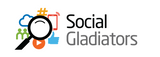 Social Gladiators marketing blog, example of our logo design