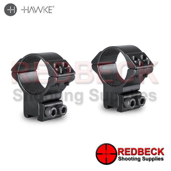 Hawke Match Mount 30mm 2 Piece 9-11mm