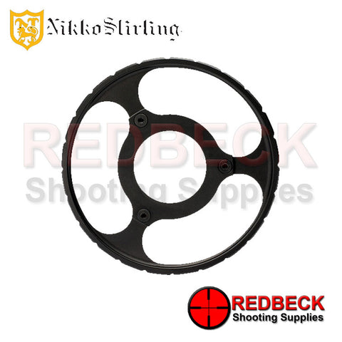 Nikko Stirling Diamond 10-40x56 Long Range Tactical wheel