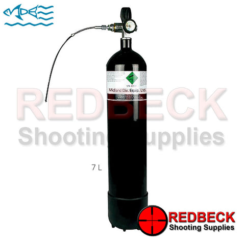 7 Litre Airgun Dive Bottle