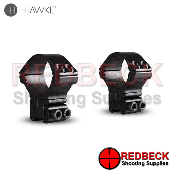 Hawke Adjustable 30mm 2 Piece 9-11mm High