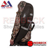 Air Arms padded airrifle bag on shoulder