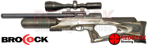 Brocock Bantam Sniper HR Laminate with HiLite Carbon Bottle