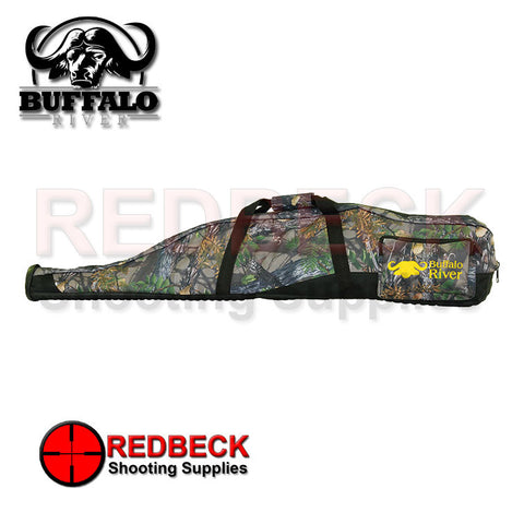 Buffalo River , Scoped rifle rubber base with sling Buffalo Camo