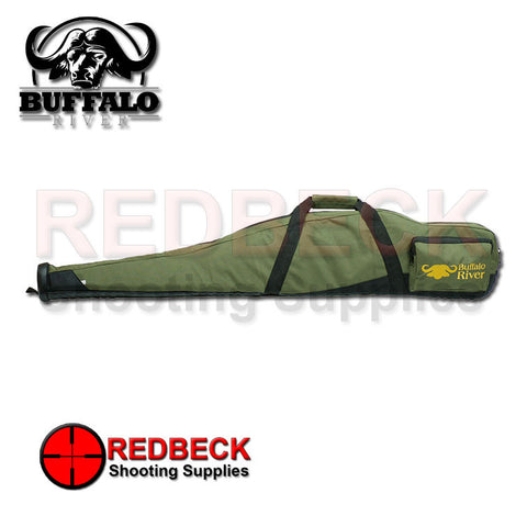 Green Buffalo River Competitor Bag, Scoped rifle rubber base with sling