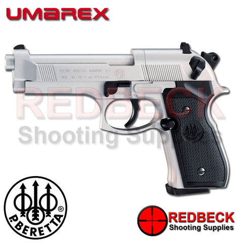 Beretta 92FS Nickel Air Pistol