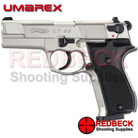 Walther CP88 Nickel C02 Air Pistol made by Umarex