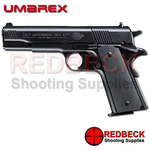 Colt 1911 Government A1 Black C02 Air Pistol made by Umarex