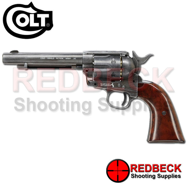 Colt .45 Antique Finish Peacemaker Pellet Firing Air Pistol