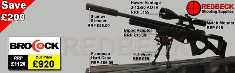 Brocock Compatto Sniper HR Black Package Deal