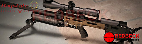 Daystate Delta Wolf Bronze Cerakote fitted with scope and bipod