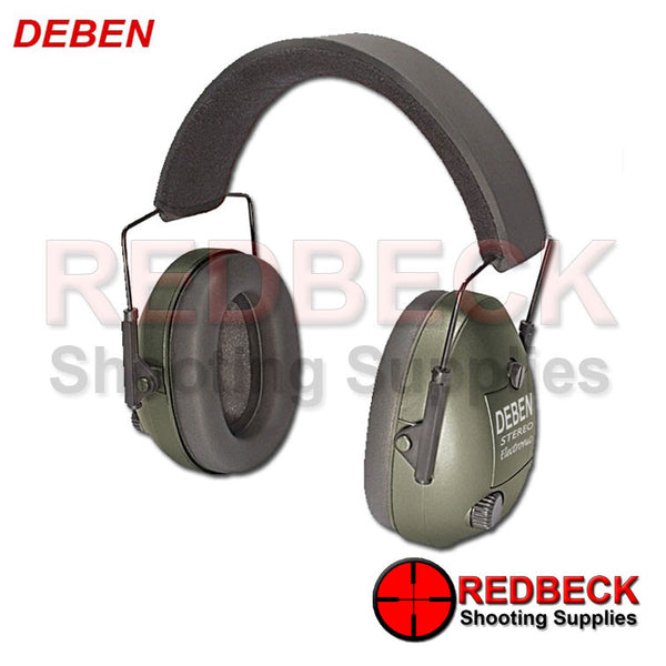 Electronic Ear Defenders - Green