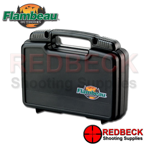 "Flambeau Pistol Case 10.5"", Sliding Lockable Latches"