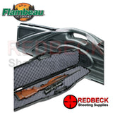 Flambeau Oversized Single Case for Single Rifle/Shotgun in black