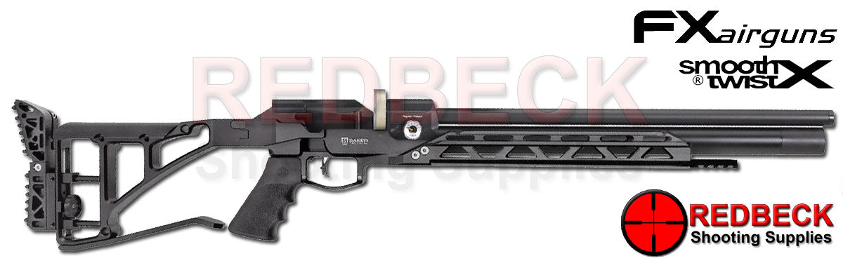 FX Dreamline Stealth Air Rifle in Black with Cylinder
