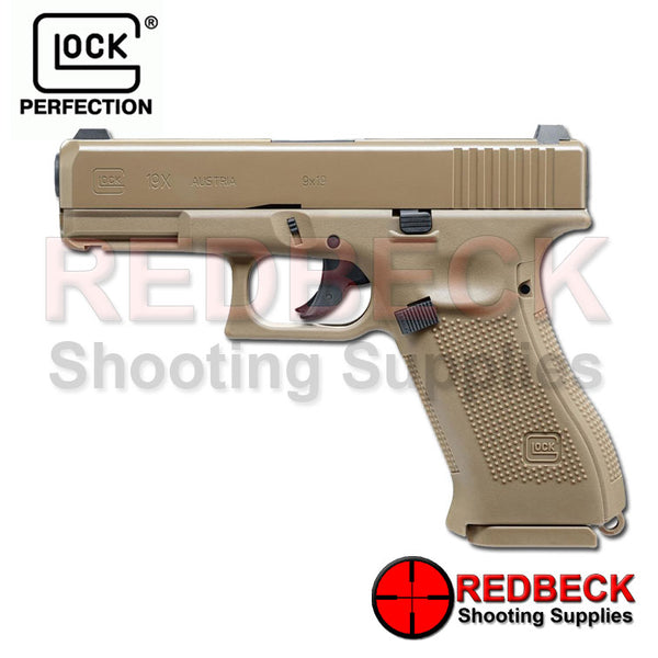 Glock 19x FDE Air Pistol Made by Umarex