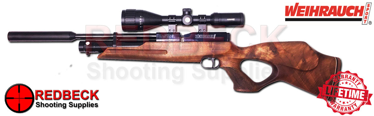 Weihrauch HW100KT Walnut Air rifle