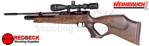 Weihrauch HW100T air rifle