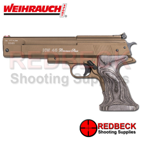 Weihrauch HW45 Bronze Star Air Pistol