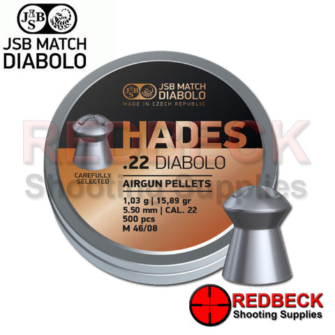 Hades Pellets .22 by JSB