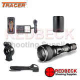 Tracer F900 White LedRay Gun Light whats in the box