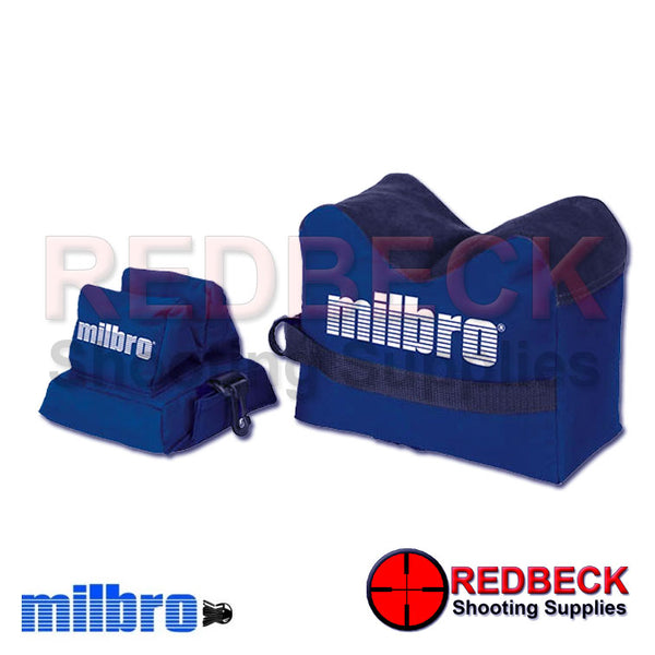 Milbro Lean On Rest Bags, Combo Bag Front and Rear Rest Bags