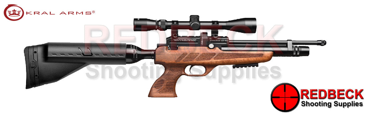 KRAL NP-02 Black air rifle