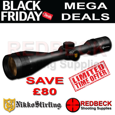 Nikko Stirling PanaMax 6-18x50 Scope Black Friday Deal