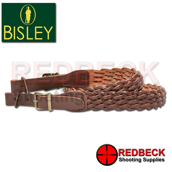 leather Plaited Sling by Bisley