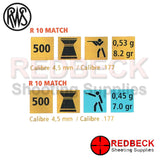 R10 Match Pellets by RWS